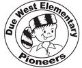 DUE WEST PIONEERS Logo