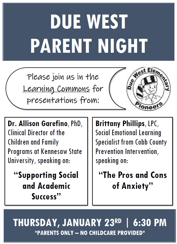 DWE Parent Night 2020