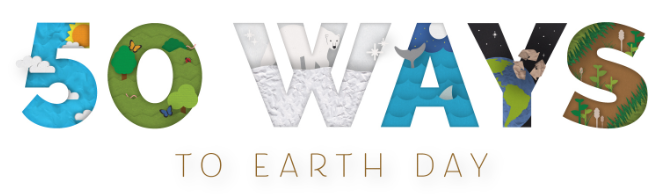 50 ways to earth day