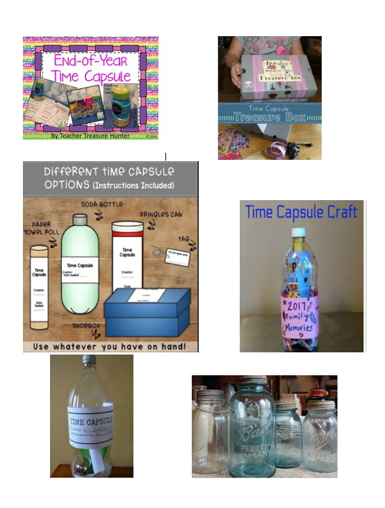 Time Capsule Examples